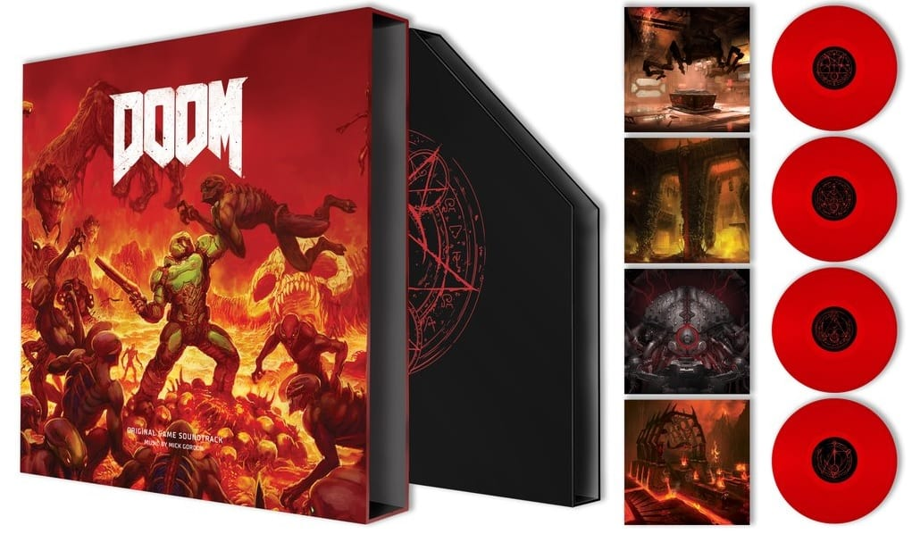 Stunning DOOM Vinyl Soundtrack Revealed, Coming Soon