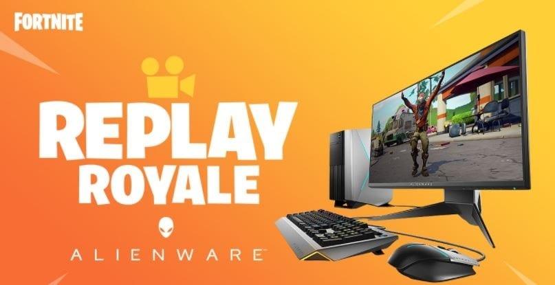 Fortnite Replay Royale: Make A Badass Replay Video, Win A Badass Gaming PC