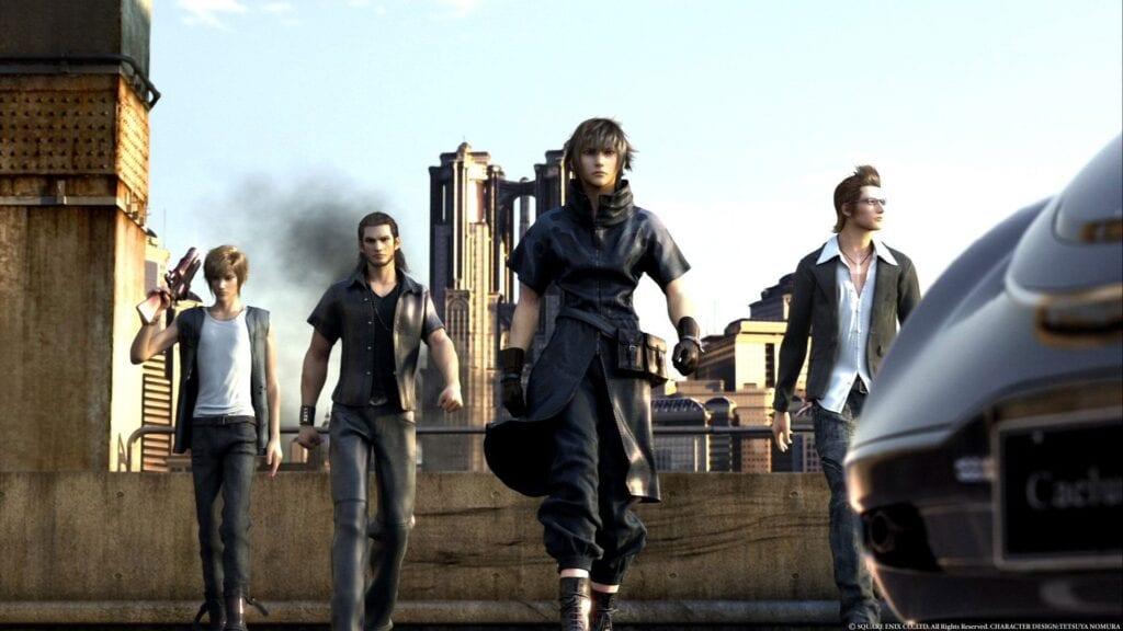 Final Fantasy XV DLC content