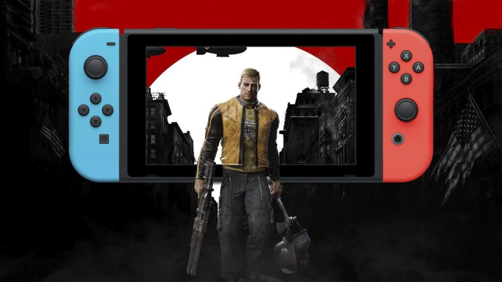 Wolfenstein II Nintendo Switch Gameplay