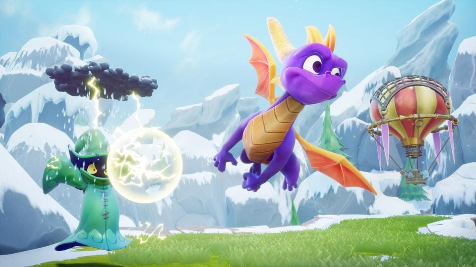 Free Spyro Reignited Trilogy PS4 Theme