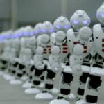 Dabbing Robots