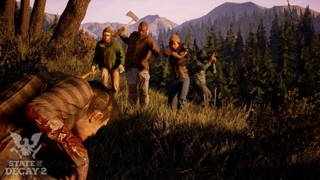 Decay 2 Reaches