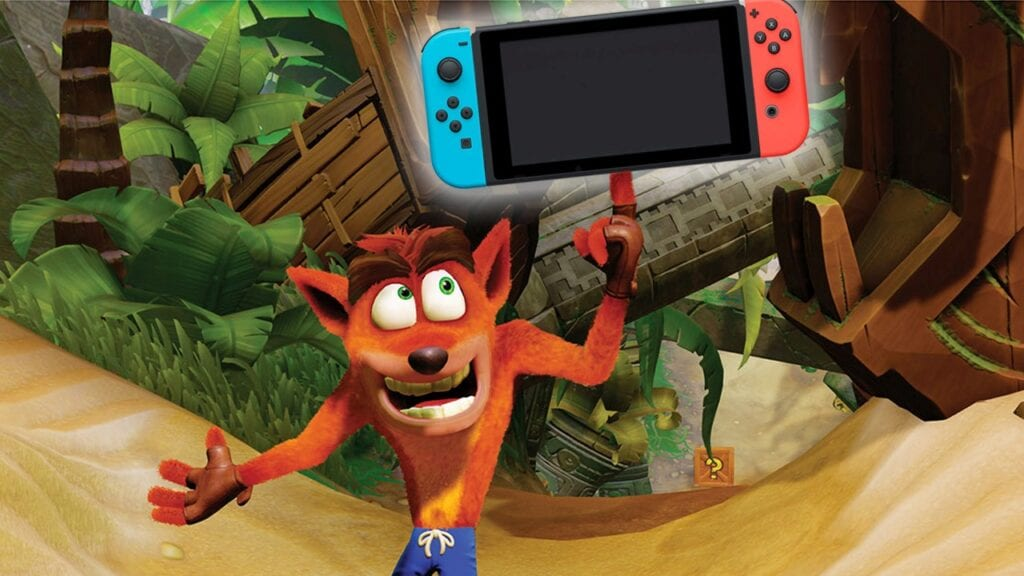 Crash Bandicoot 4 nintendo switch Release