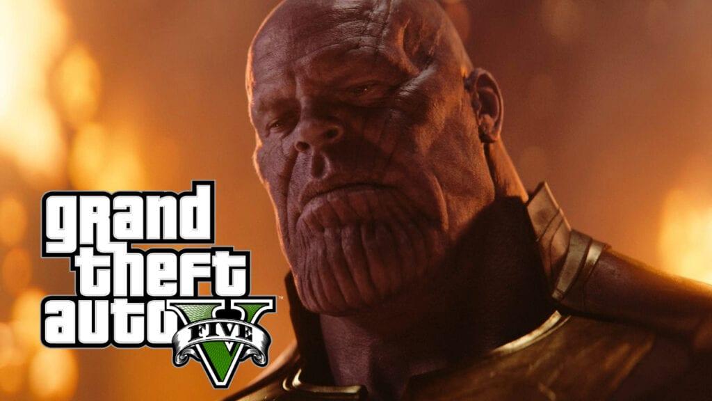 GTA 5 Thanos Mod
