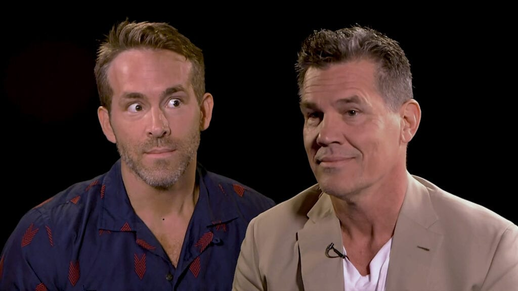 Ryan Reynolds and Josh Brolin