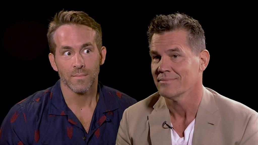 Ryan Reynolds and Josh Brolin