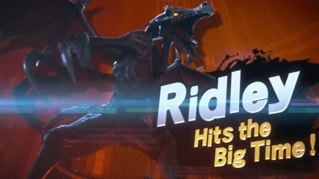 Super Smash Bros Ultimate Fighter Ridley