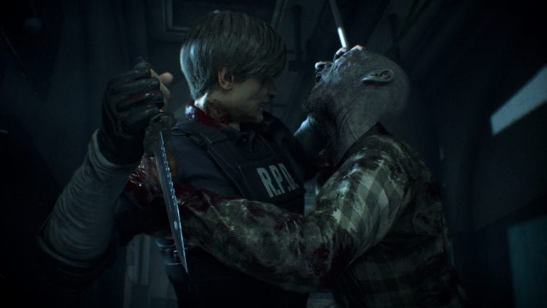 resident evil 2 remake leon and claire