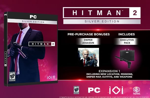 Hitman 2 Special Editions