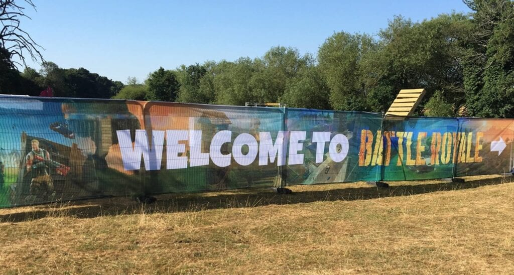 Real Life Fortnite Laser Park