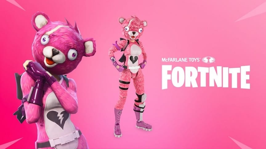Fortnite Figures Coming Soon From McFarlane Toys