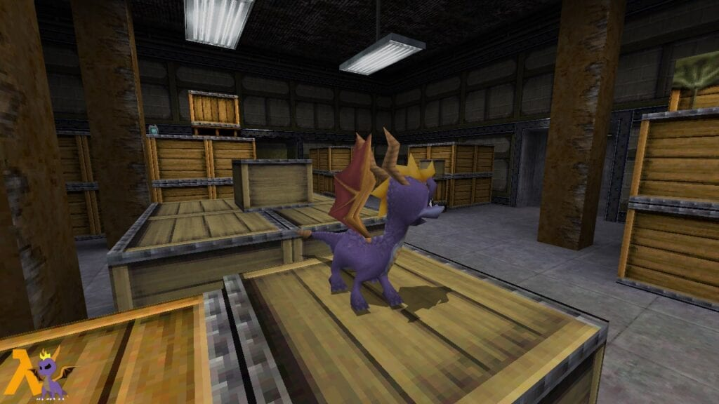 Half-Life Meets Spyro The Dragon With This Mod (VIDEO)