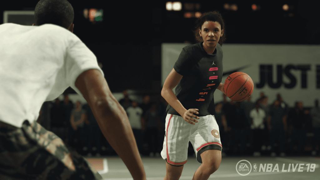 EA NBA LIVE 19 Female