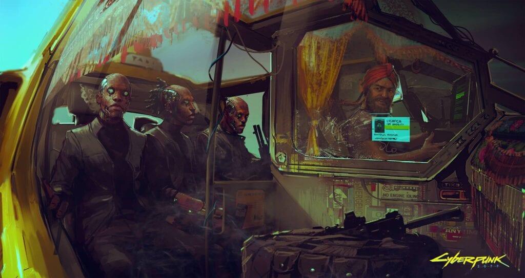 Cyberpunk 2077 Concept Art 2