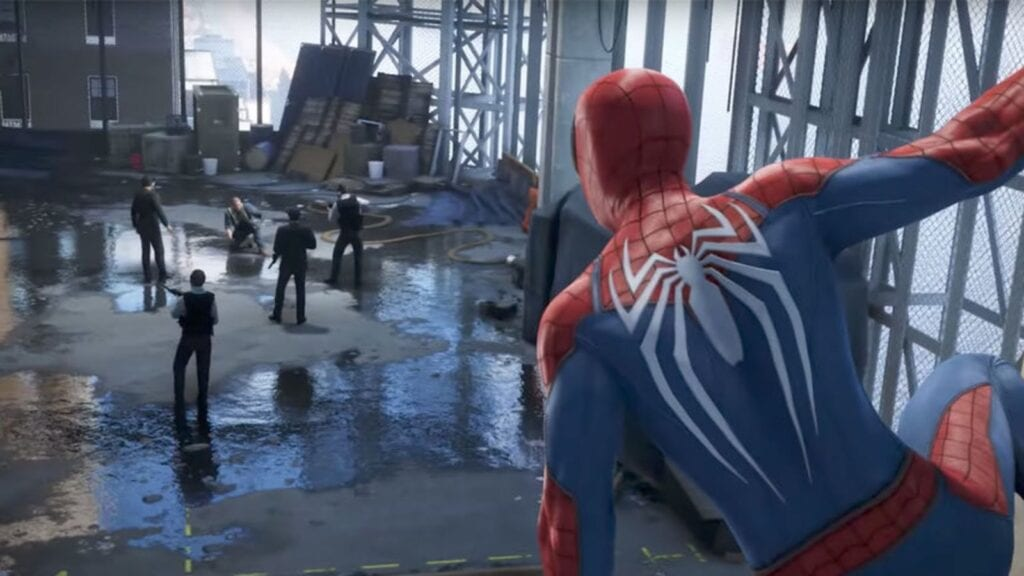 Spider-Man PS4 Downgrade