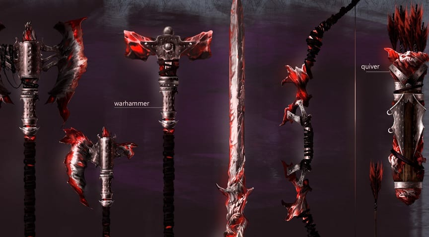 Skyblivion Mod Creators Show Off New Daedric Weapon Set