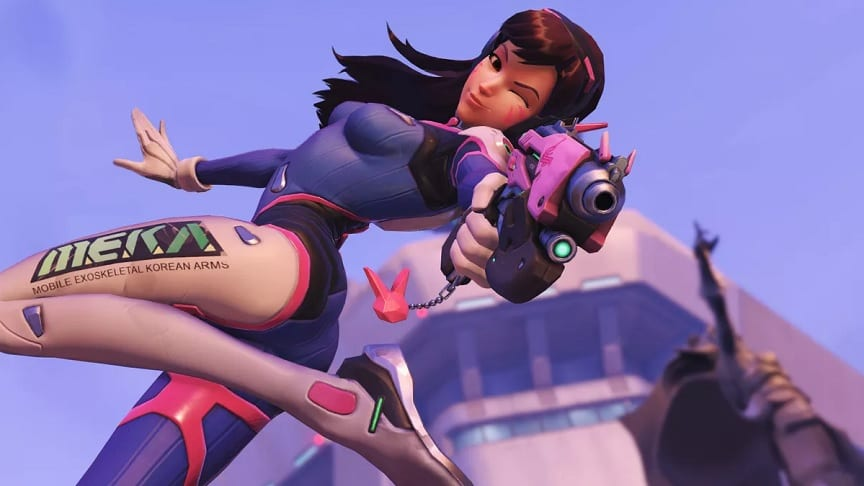 Overwatch Nerf Line Adds D.Va's Iconic Pink Blaster, Coming Soon