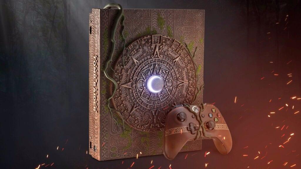 Shadow Of The Tomb Raider Custom Xbox One X Revealed