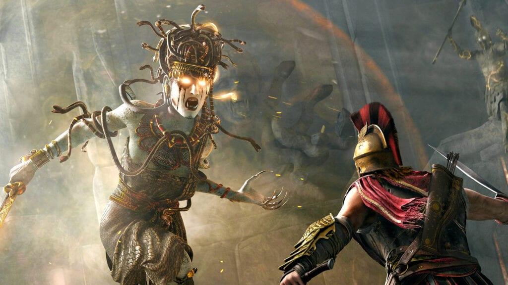 Assassin's Creed Odyssey Medusa Gameplay