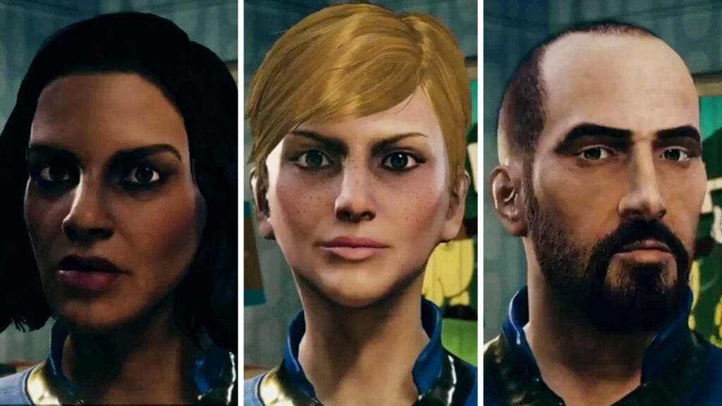 Fallout 76 Character Customization Photo Mode