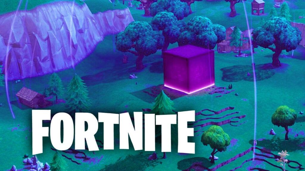 Fortnite Cube Low-Gravity Dome