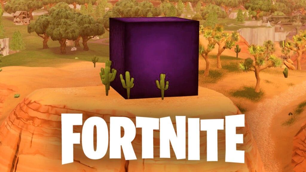 Fortnite Glowing Cube Lightning Rift