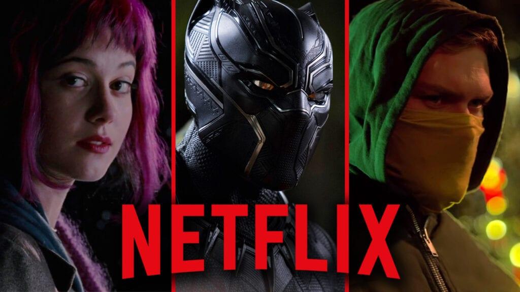 Netflix September 2018 Scott Pilgrim vs. the World Black Panther Iron Fist