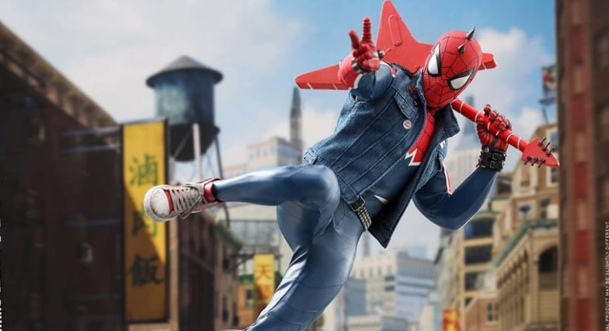 Spider-Man PS4 Receives Special Hot Toys Spider-Punk Figure
