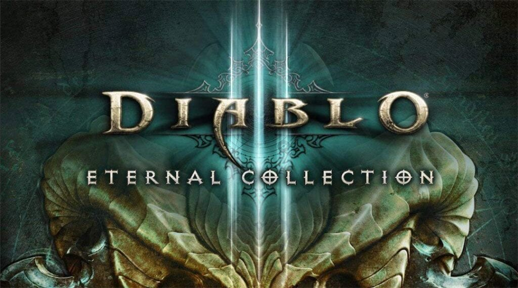 Diablo III Nintendo Switch Box Art