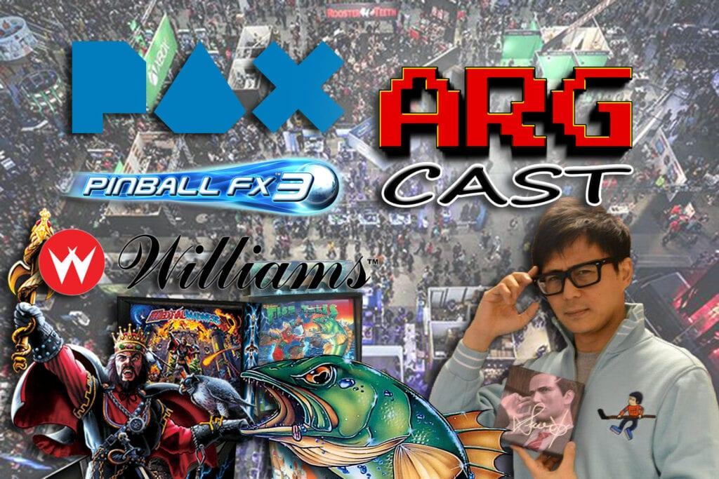 ARGcast #127: PAX West 2018 Interviews and Pinball FX3 with Mel Kirk