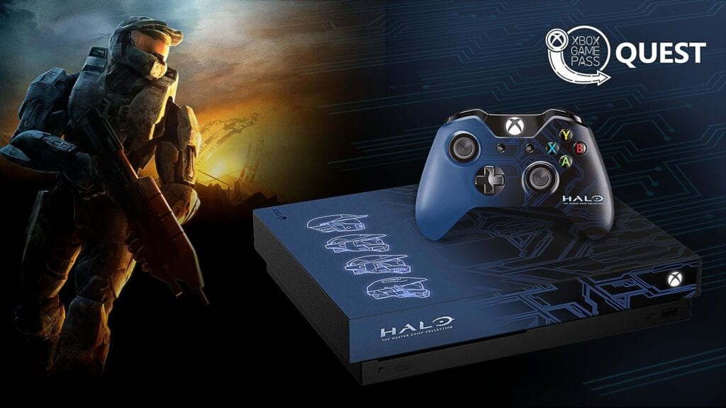 Microsoft Announces Contest To Win Custom Halo Xbox One X