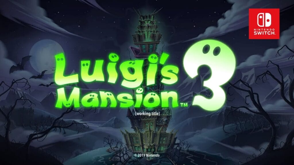 Luigi's Mansion 3 Announced For Nintendo Switch (VIDEO)