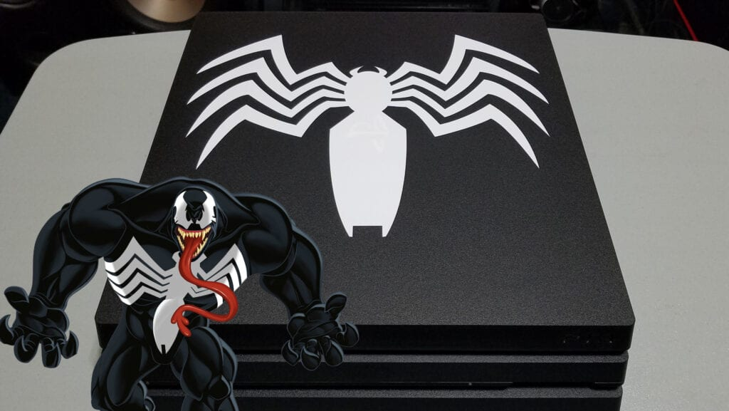 This Custom Venom PS4 Pro Is Perfect For The New Spider-Man Game