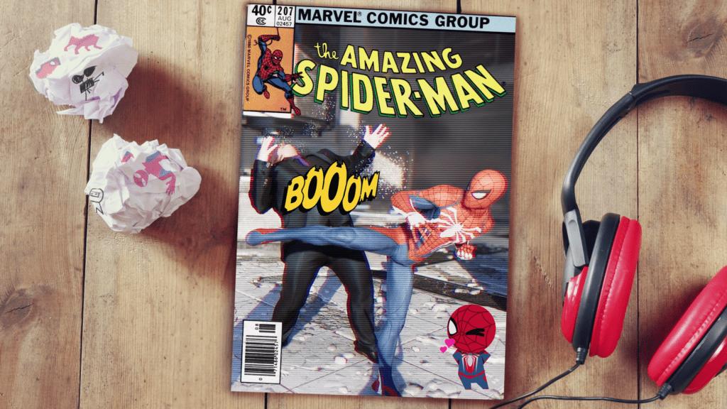 Spider-Man PS4 Photo Mode