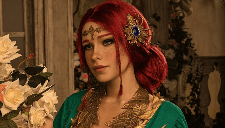 The Witcher Triss Cosplay