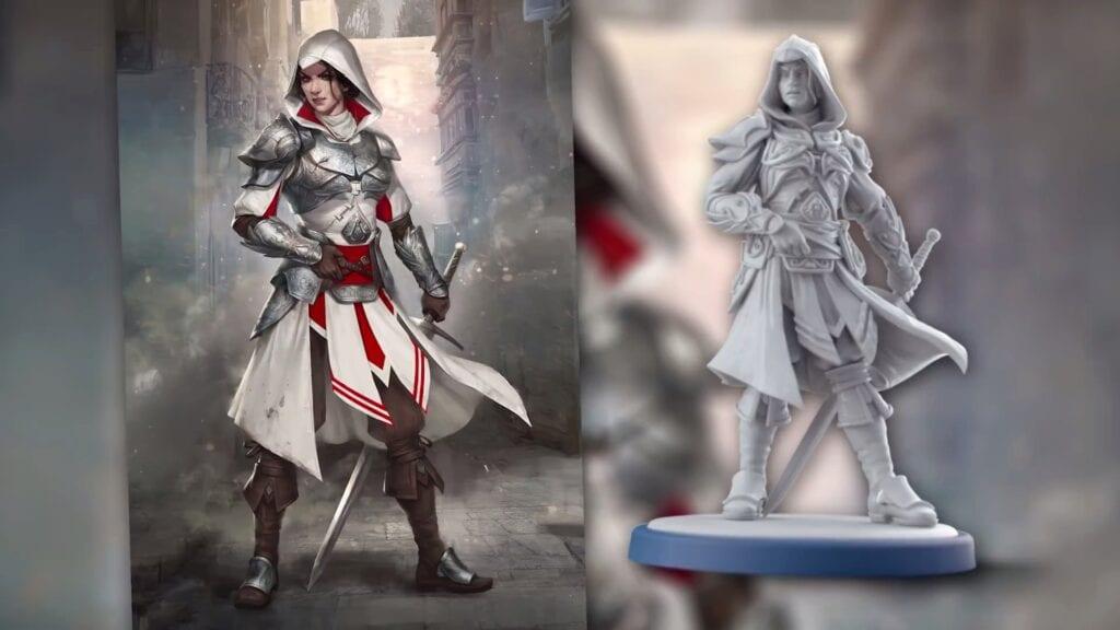 Assassin's Creed Board Game Ezio