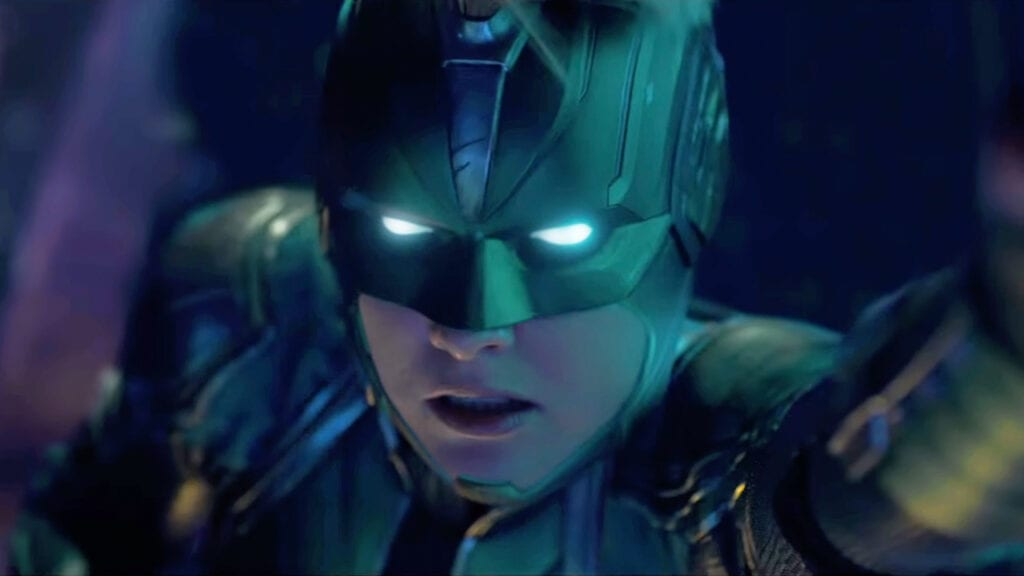 Captain Marvel Makes Her Debut In Explosive First Trailer (VIDEO)