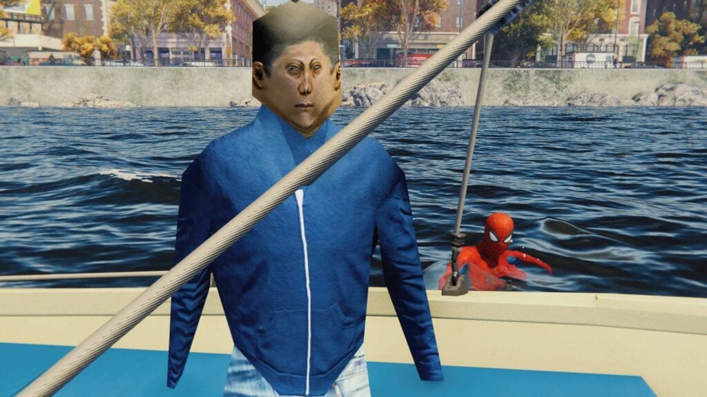 Spider-Man PS4 Boat People