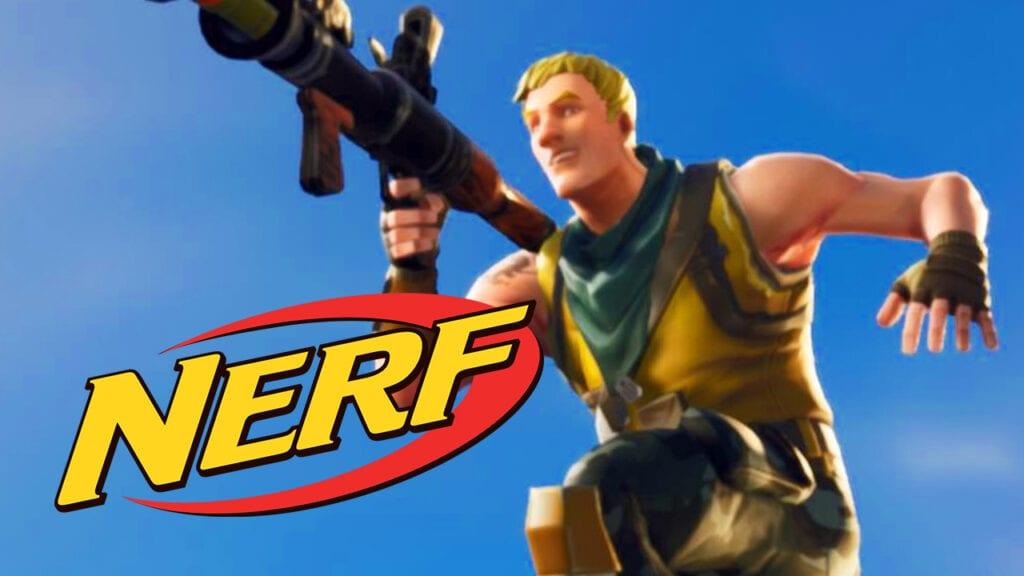 Fortnite Hasbro Nerf Monopoly