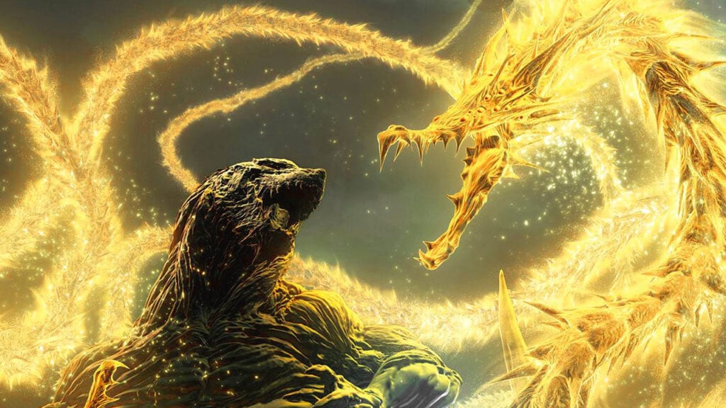 Godzilla Anime Planet Eater King Ghidorah Poster