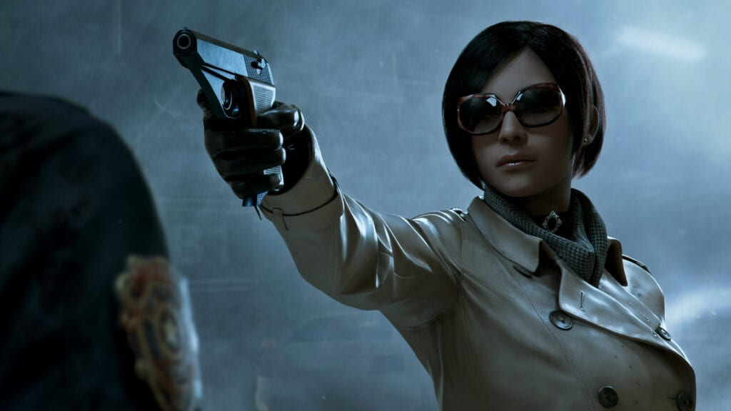 Resident Evil 2 Story Ada Wong Look