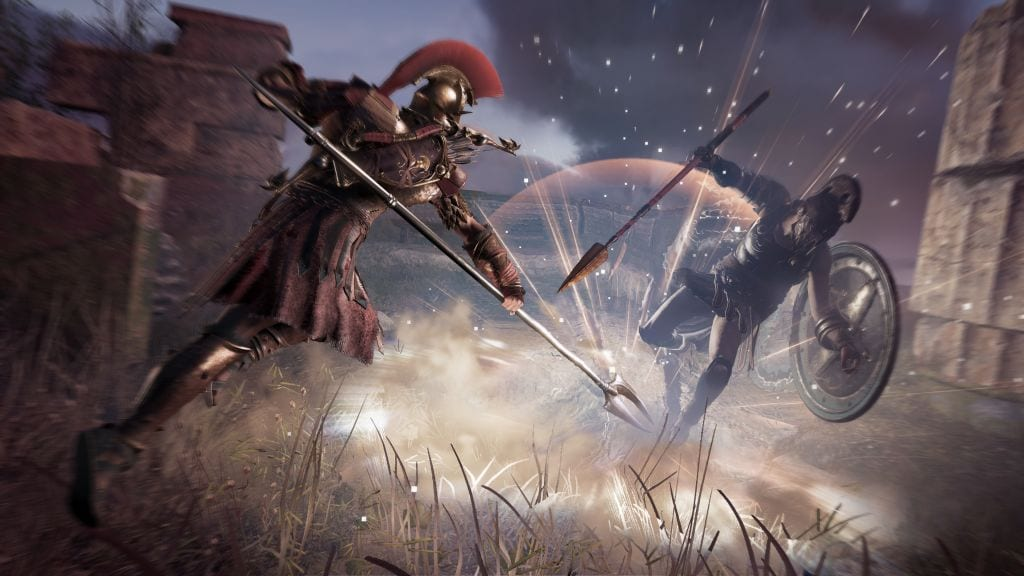 Assassins Creed Odyssey Storm Attack