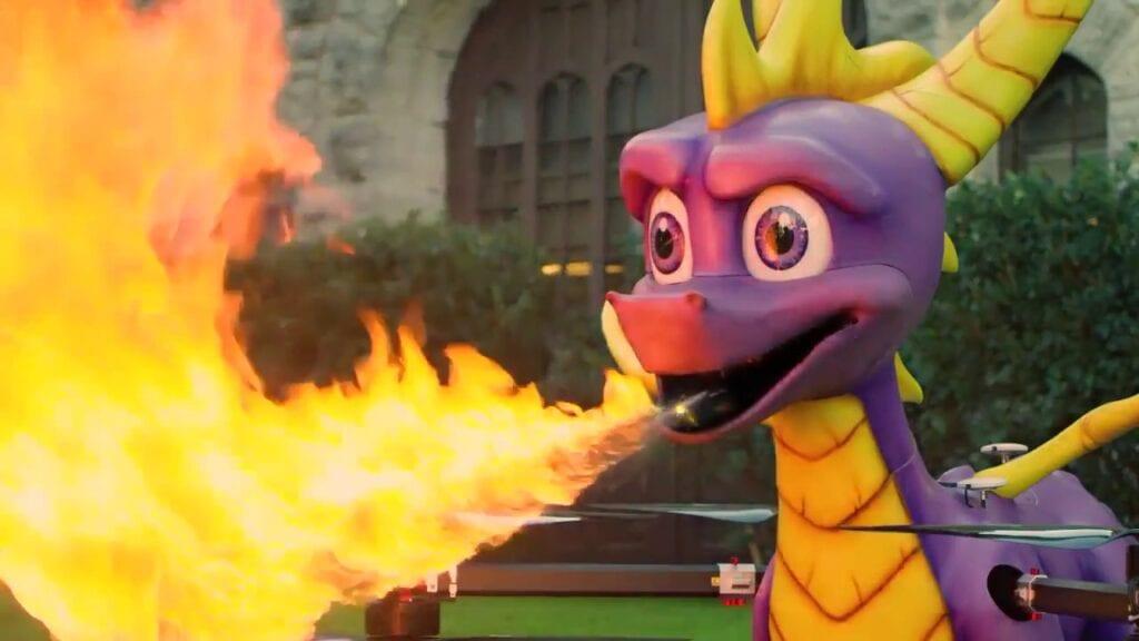 Spyro the Dragon Drone