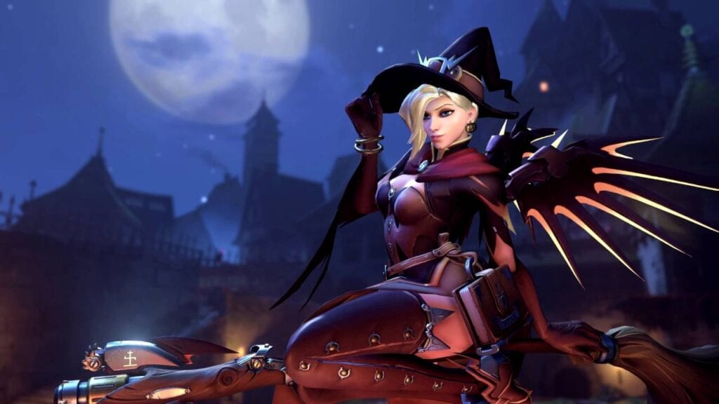 Overwatch Mercy Halloween