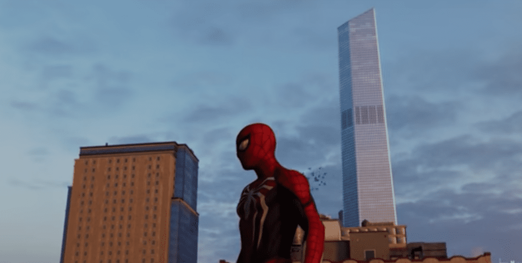 Spider-Man PS4 Freedom Tower