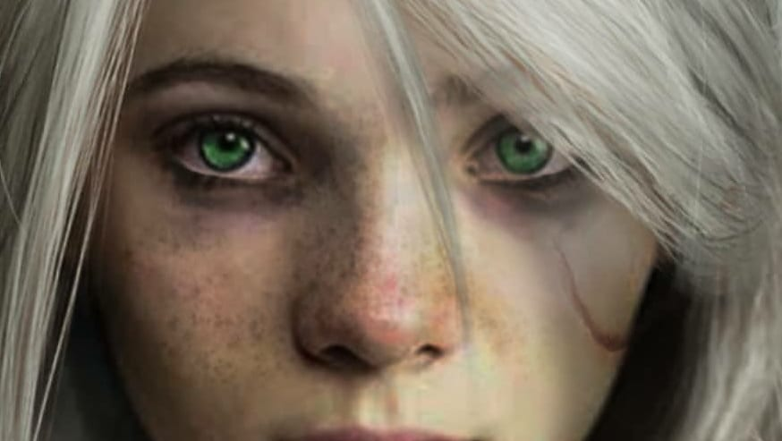 Netflix The Witcher Concept Art Reveals Freya Allan As Ciri