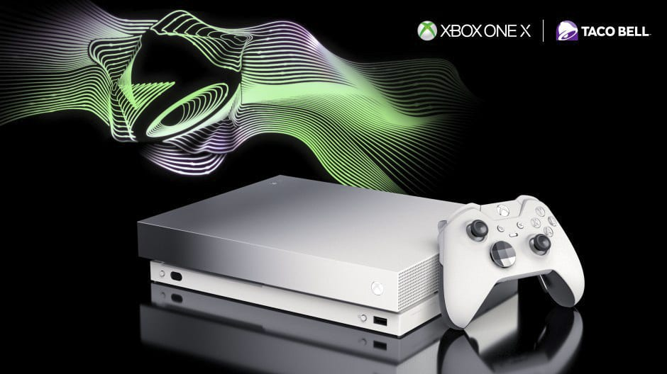 Taco Bell Platinum Xbox One X