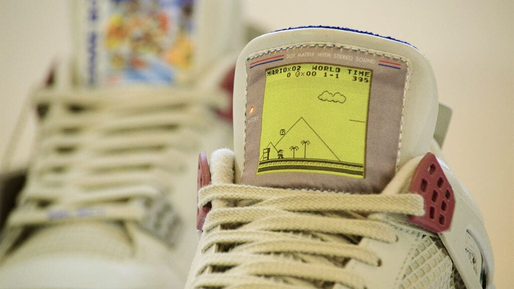 These Game Boy Air Jordans Will Have You Playing With Power (GALLERY)