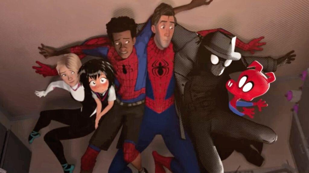 Spider-Man Spider-Verse characters Spider-Ham Noir SP//dr